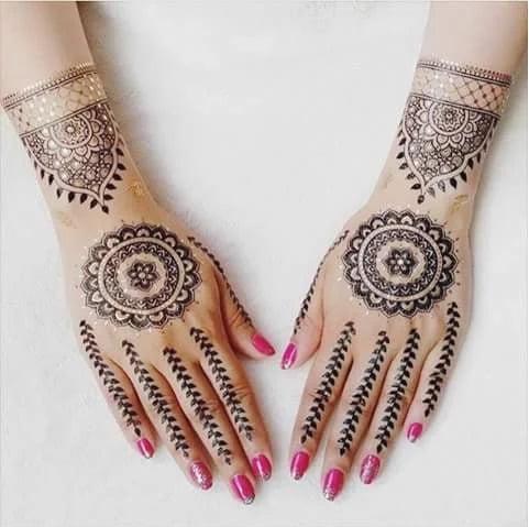Mehndi designs 10